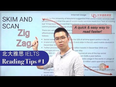《北大雅思周计划》IELTS Reading Tips #1: Zig-Zag