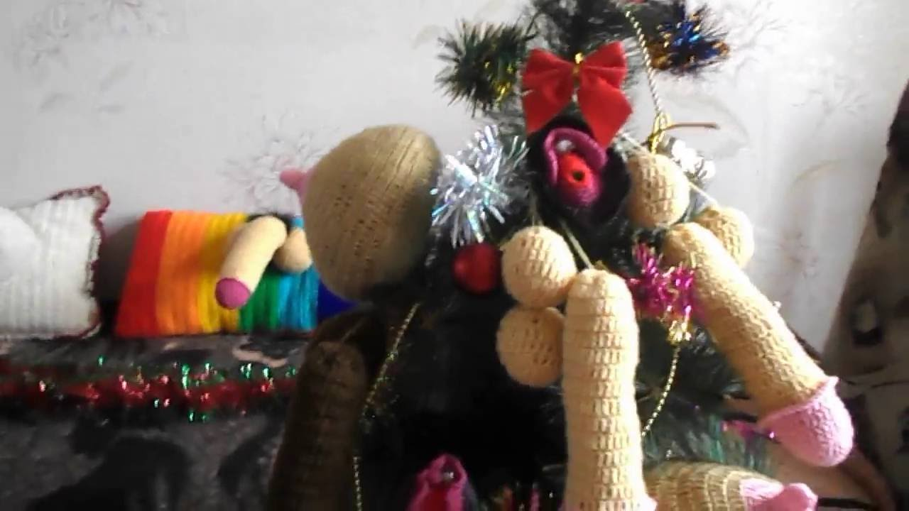 How to decorate naughty Christmas Tree with Penis, Vulva and ...