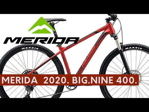 MERIDA  2020. BIG.NINE 400. Red bright MTB