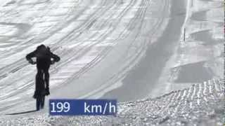 Мировой рекорд скорости на велосипеде Markus Stockl 210,4km(Наш канал для тех, кто привык к скорости, движению. Если отдых