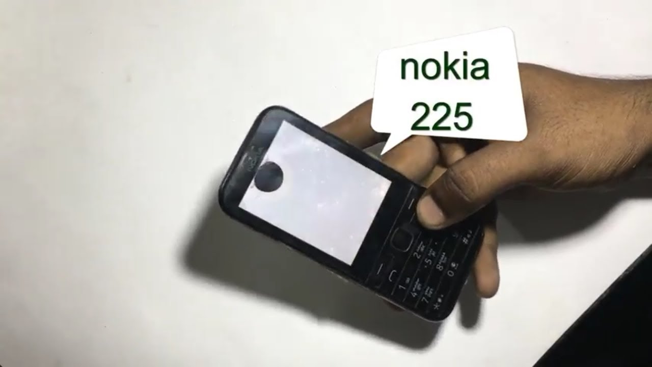 how to replace nokia 225 display - YouTube