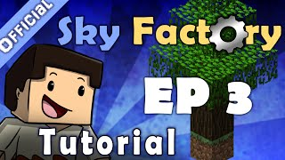 Minecraft Sky Factory Official Tutorial 3 - Cobblestone Generator