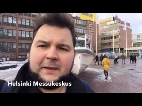 Выставка катеров. Boat Show. Helsinki. Vene Bat 2016