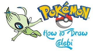 How To Draw Celebi (POKEMON)