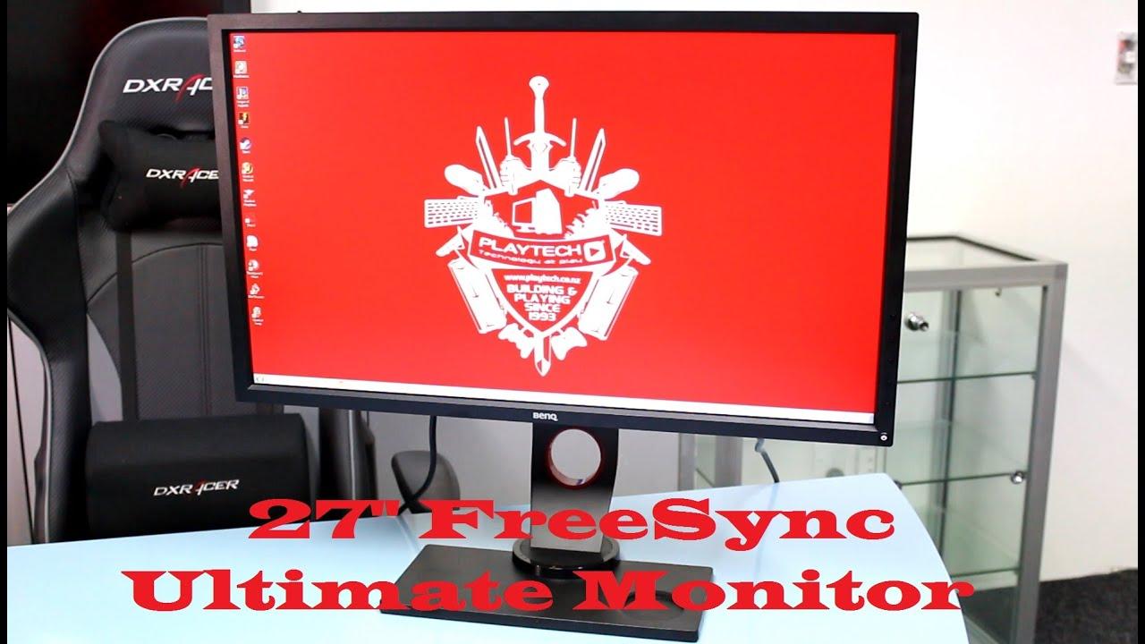 BenQ XL2730Z 144hz 1440p FreeSync Monitor Review