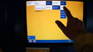 Покупка билета на поезд до Амстердама в аэропорту Schiphol