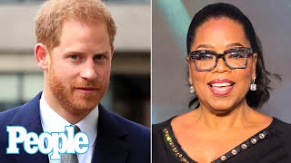 Prince Harry and Oprah Winfrey Get Emotional in New Trailer for Mental Health Series | PEOPLE