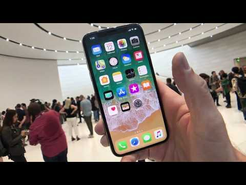 Apple's $999 iPhone X Hands On