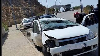 حوادث السيارات خطيرة سنة 2017