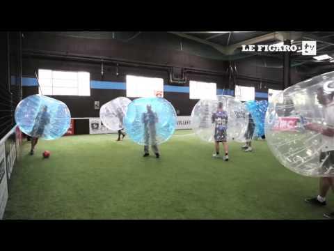 L'autre façon de jouer au football : le Bubble Bump