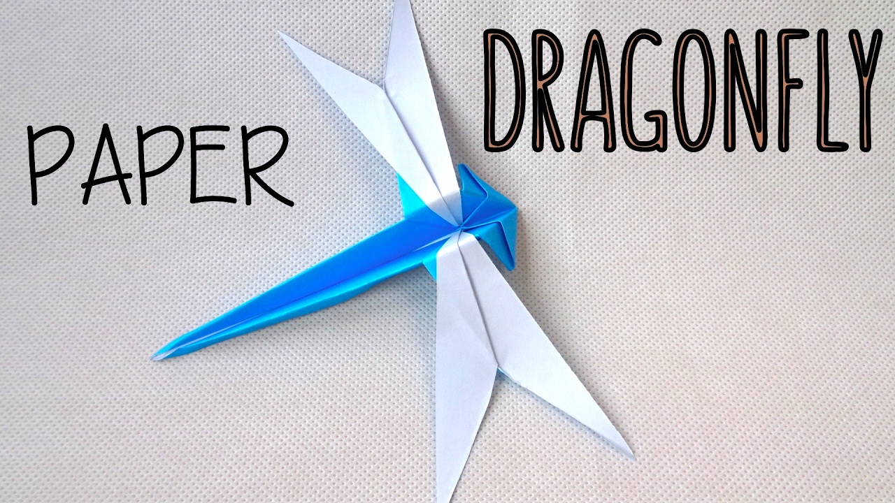 How to fold a paper dragonfly origami dragonfly easy origami how to fold a paper dragonfly origami dragonfly easy origami jeuxipadfo Image collections