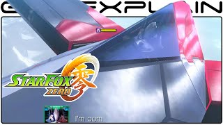 Star Wolf 1 on 1 Battle in Star Fox Zero - Hunter: Lone Wolf (60fps Direct Feed w/ voices)