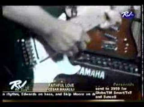 Faithful Love by Cesar Manalili - YouTube