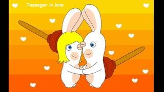 ♫ Rayman raving rabbids 2 ♪ Teenager in love ♫