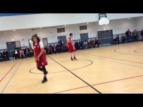 HMEM GAMK vs ST lazare Dexter YBL Jan 20th 1018 midget basketball first half