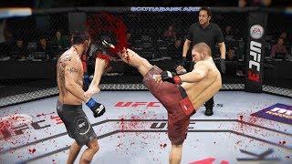 КРОВАВАЯ РУБКА в МИРОВОМ ТОП 10 РЕЙТИНГА UFC 3