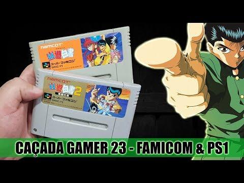 Caçada Gamer 23 - Super Famicom e Playstation One