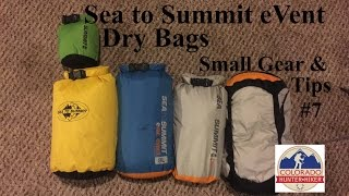 Sea to Summit eVent Dry Bags - Small Gear & Tips #7 - Backcountry Hunting Dry Bags
