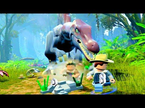 LEGO Jurassic World Spinosaurus Chase Scene, Jurassic Park 3