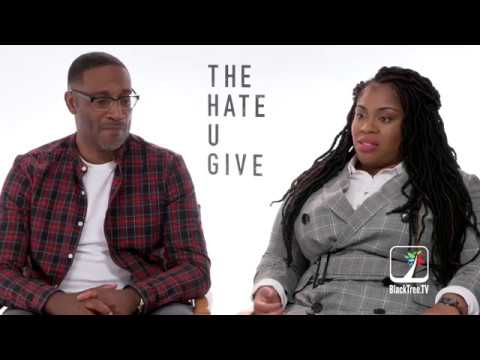George Tillman Jr and Angie Thomas Interview THE HATE U GIVE