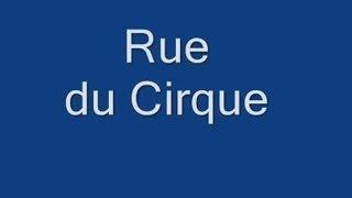 Rue du Cirque Paris  Arrondissement  8e