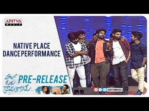 Native Place Dance Performance@ Hello Guru Prema Kosame Pre Release Event   Ram, Anupama   DSP
