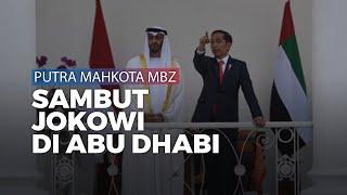 Presiden Jokowi Lakukan Kunjungan ke Abu Dhabi, Disambut dengan Upacara Kenegaraan
