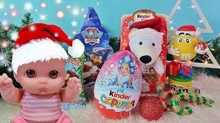 Куклы Пупсики Поздравления с Новым годом 2018 Открываем подарки и сюрпризы Игрушки Зырики ТВ Ляля