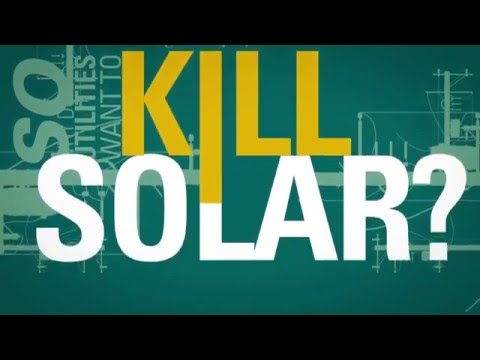 Solar Power Works in America -- So Why do Utilities Want to Kill It?