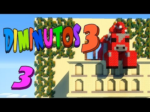 DENTRO DE CHAMPIVACA!! #DIMINUTOS3 | Episodio 3 | Minecraft Supervivencia | Willyrex Y STaXx