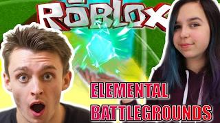 ROBLOX LET'S PLAY ELEMENTAL BATTLEGROUNDS | RADIOJH GAMES & MICROGUARDIAN