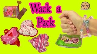 Wack A Pack Surprise Balloons + Valentines Day Cards Fun Unboxing Video - Cookieswirlc