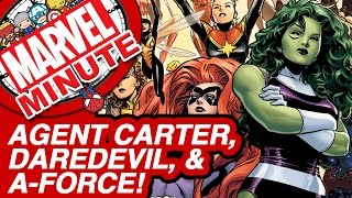 Peggy's On The Run, Daredevil Gets Gritty, Comics & More! - Marvel Minute 2015