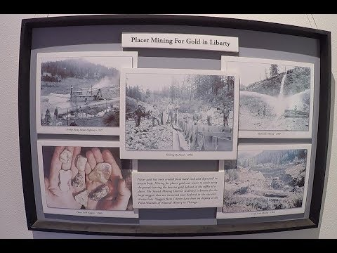 Placer Mining For Gold In Liberty