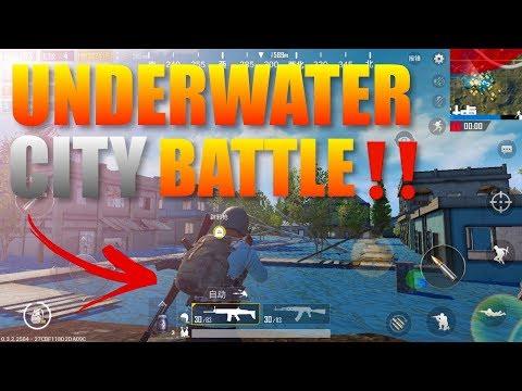 PubG Mobile Underwater City Battle Gameplay‼️(Light Speed Ultra Graphics)
