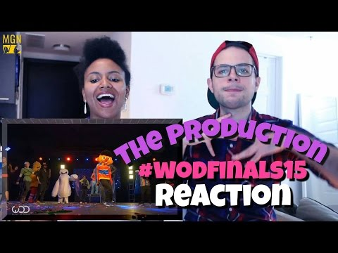 The Production | FRONTROW | World of Dance Finals 2015 | #WODFINALS15 Reaction