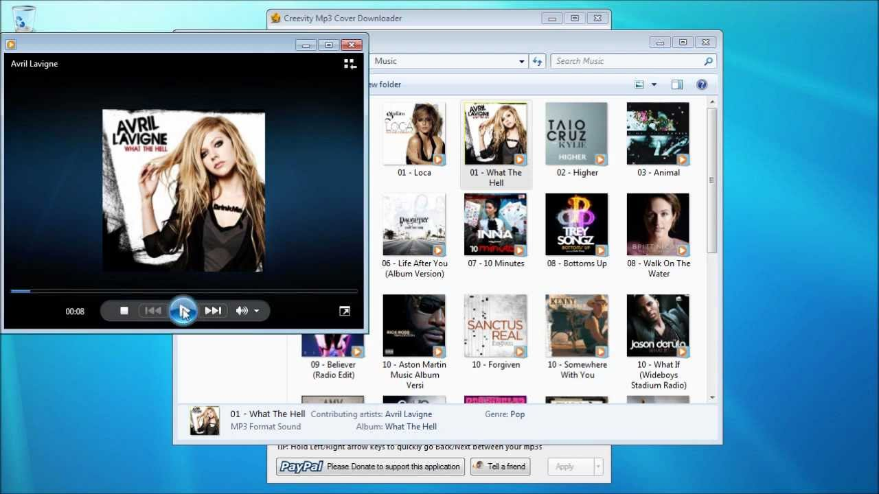 Creevity mp3 cover downloader 1.1