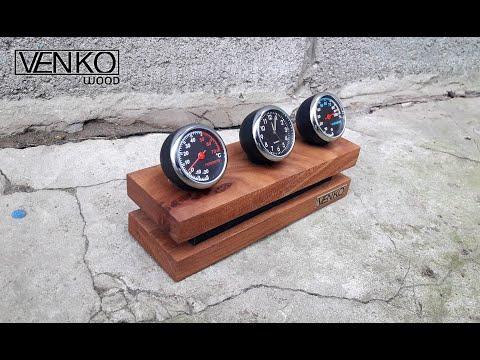 Office Clock Thermometer | Офисные часы-термометр