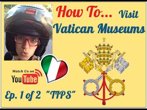 How to Visit Vatican Museums 1/2 - insider tips to know before you visit