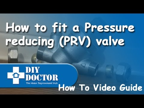 how to fit a pressure reducing prv valve youtube. Black Bedroom Furniture Sets. Home Design Ideas