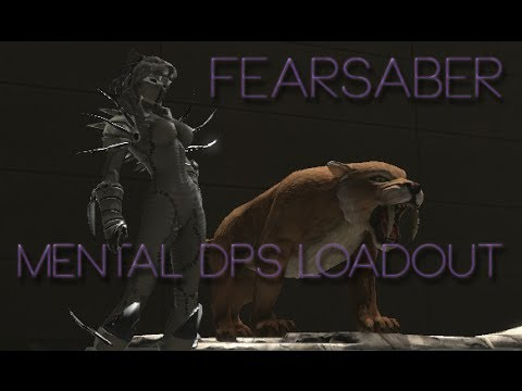 dcuo fearsaber mental dps loadout youtube