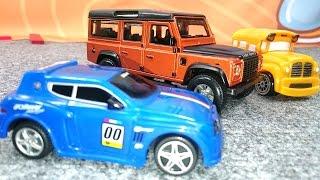 Басси и Спиди собирают Land Rover Defender