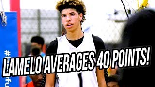 LaMelo Ball Scores 200+ POINTS in Big Ballers 1st Summer Tournament! FULL WEEKEND HIGHLIGHTS