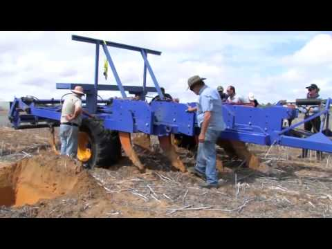 De-compacting and stabilising compacted soils in WA