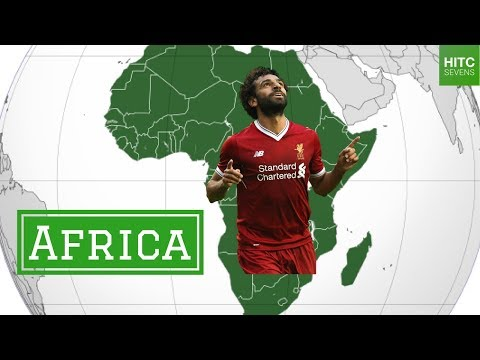 Best Footballer From Each of the 7 Continents