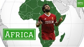 Best Footballer From Each of the 7 Continents thumbnail