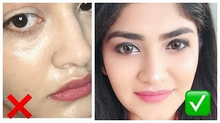 How to apply base make up for Indian skin ! Summer makeup| sweat proof