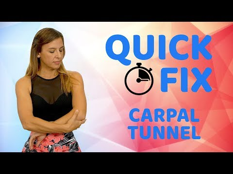 Quick Relief for Wrist Pain and Carpal Tunnel ♥ DIY Massage & Stretches, Easy 7 Minute Routine