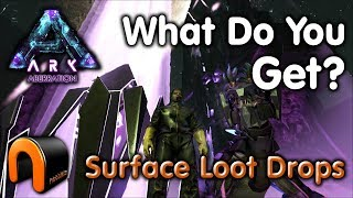 ARK ABERRATION SURFACE LOOT DROPS - WHAT DO YOU GET?