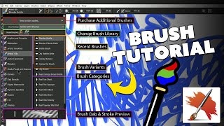 Overview of Painter Brushes (Corel Painter Course Sample)